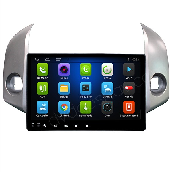 10.1 inch HD Large Screen Android Toyota RAV4 Navigation Radio GPS WiFi Mirror Link Quad-Core