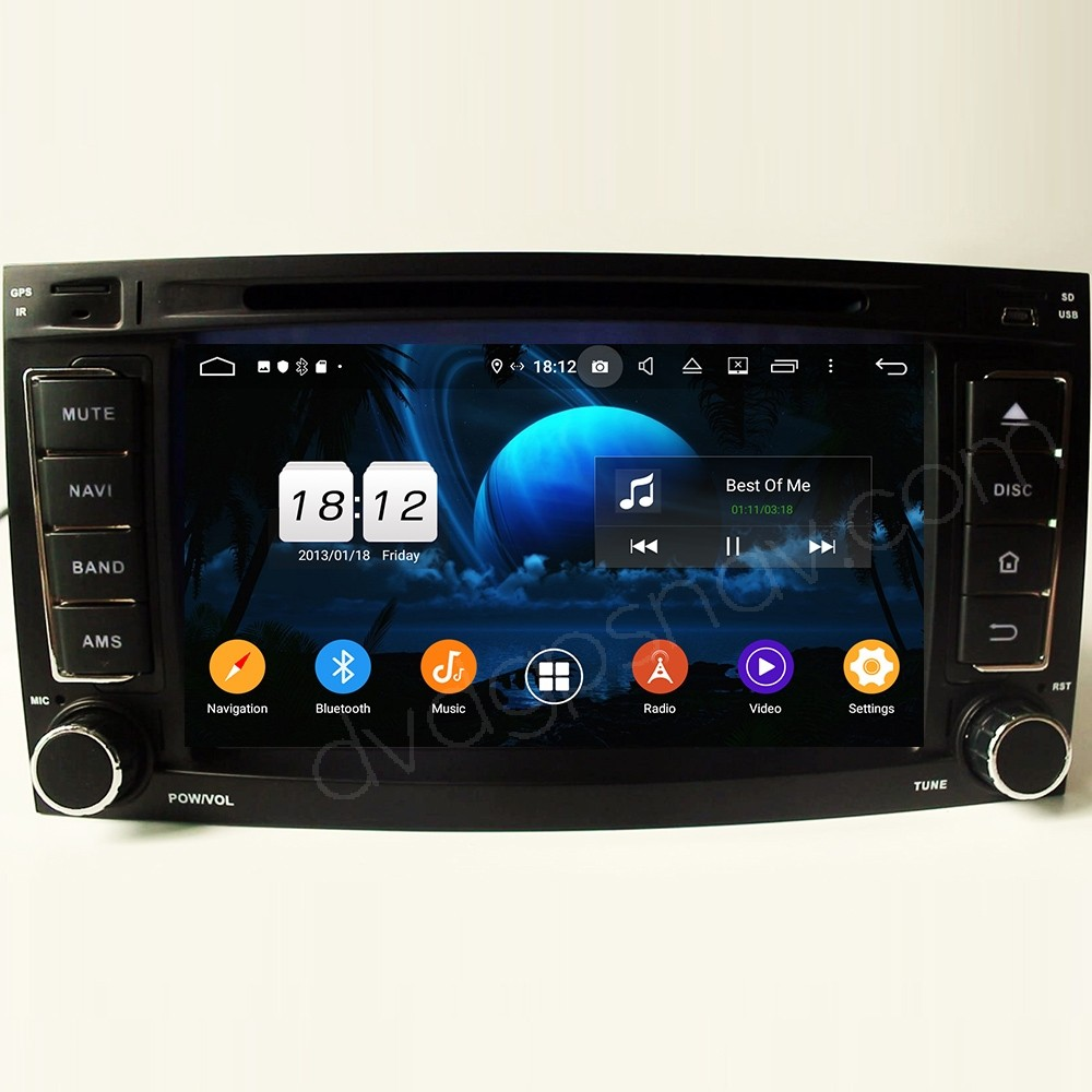 Android VW Touareg Head Unit Upgrade Aftermarket Navigation System Support Apple Carplay