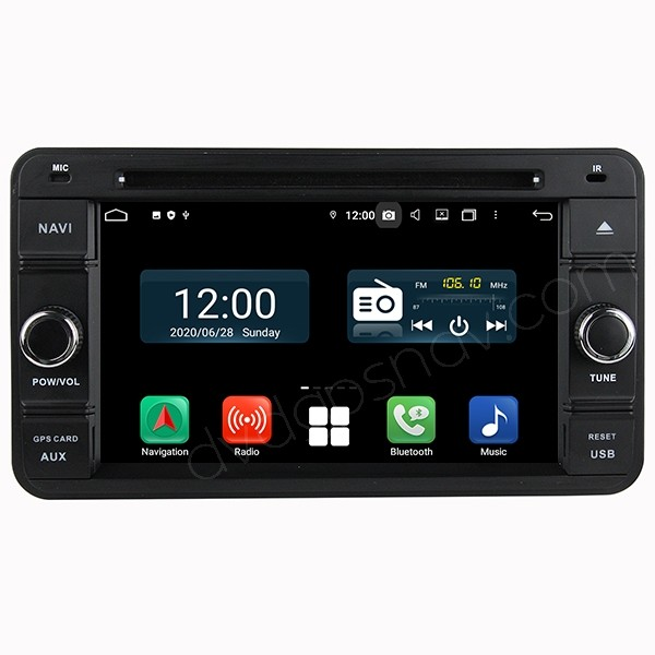 Suzuki Jimny Radio Replacement Head Unit Upgrade with Android Navigation System