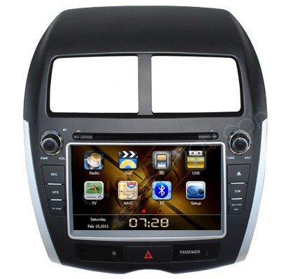 Mitsubishi ASX DVD Player Head unit Mitsubishi ASX GPS Navigation Radio