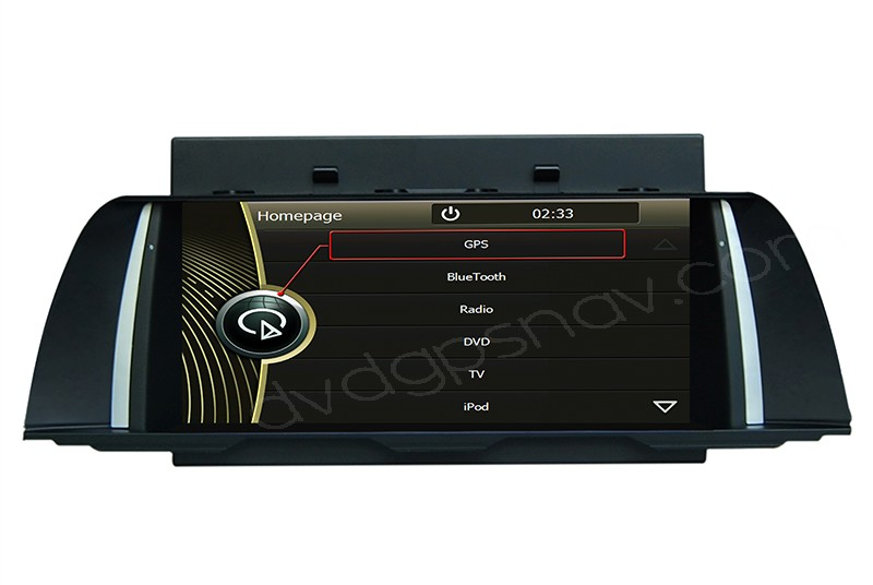 2013 2014 BMW F10 DVD Player GPS Navigation head unit 10.2 inch digital touch screen
