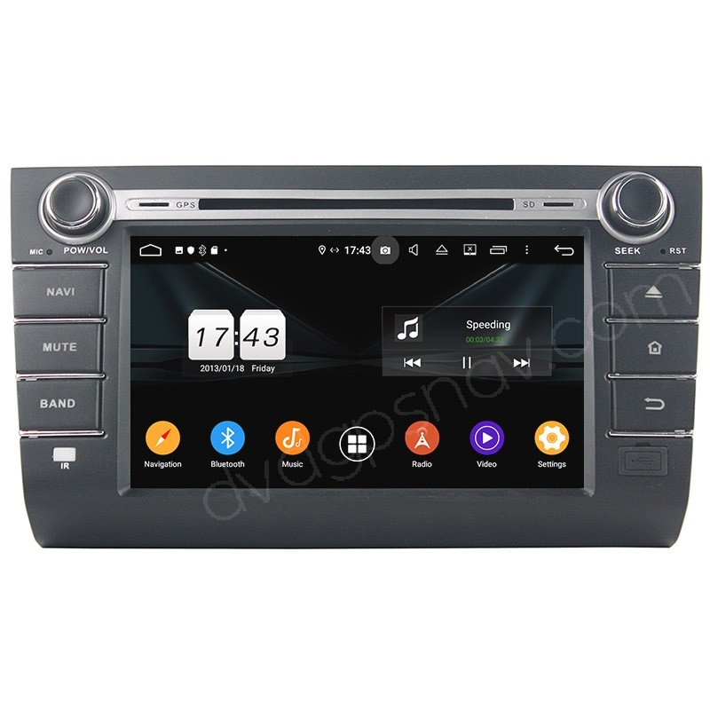 Suzuki Swift Android Head Unit Radio Upgrade 8 Inch HD Touch Screen With DSP Amplifier