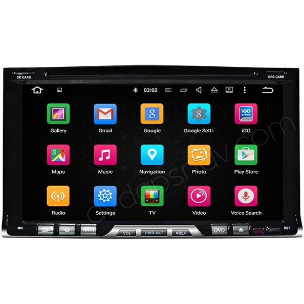 7 inch Android Autoradio DVD GPS 2 Din Car DVD Player GPS Navigation Head unit