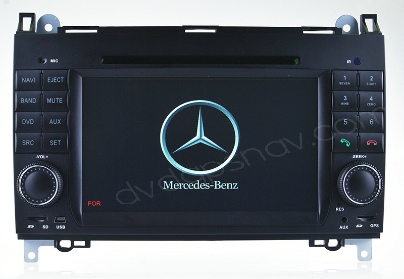 Car DVD Player for Mercedes Benz A Class W169 B Class W245 Navigation GPS DVD head unit