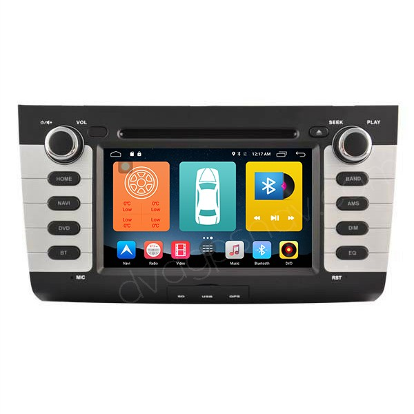Android 6.0 Suzuki Swift DVD Player GPS Navigation System Head Unit 1024*600 Touch Screen