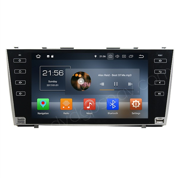 Android Toyota Camry Radio Navigation Head Unit Multimedia System 8-Core 4GB RAM 32GB 9 Inch HD Screen