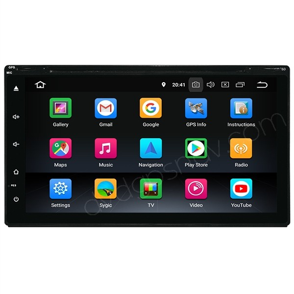 Android 9.0 Multimedia Head Unit Car Stereo Double Din With Navigation