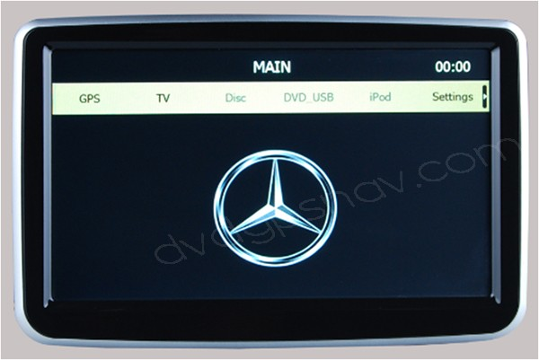 Mercedes A-Class W176 B-Class W246 GPS Navigation System Touch screen DVD Player Head unit