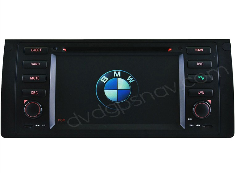 bmw e39 dvd player gps navigation bluetooth headunit hd. Black Bedroom Furniture Sets. Home Design Ideas