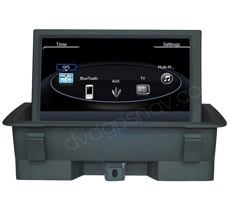 Audi Q3 DVD Navigation - Audi Q3 GPS with Bluetooth touch