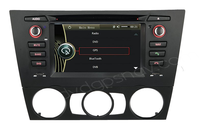 BMW E90 E91 E92 DVD player BMW E90 E91 GPS navigation Head unit