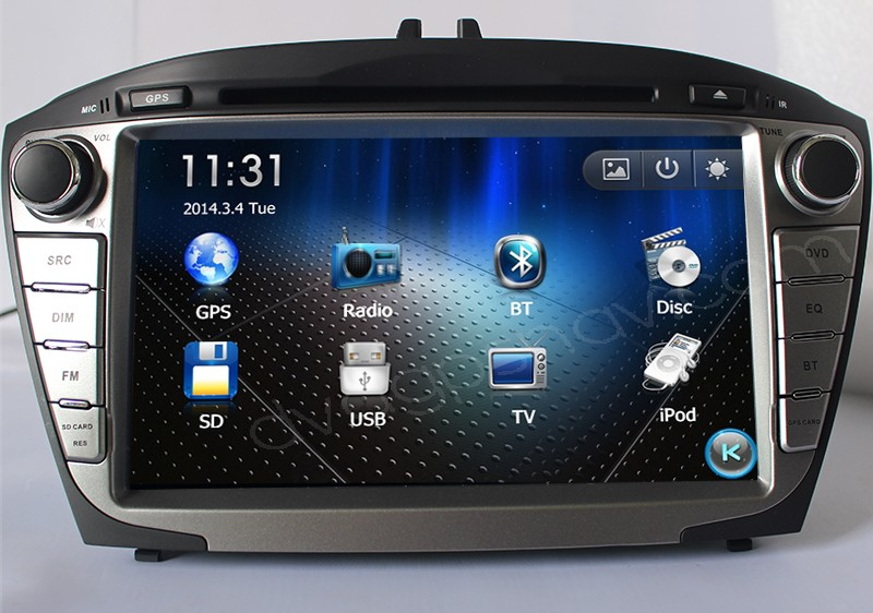 2014 Hyundai IX35 Radio DVD player in-dash GPS navigation system