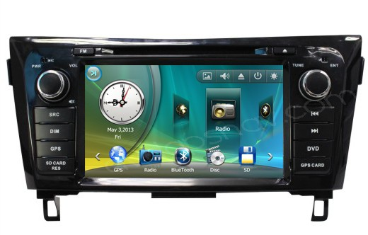 Nissan X-Trail Navigation GPS Car DVD Player Radio 2014-2015 Nissan Qashqai Rouge X-Trail