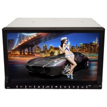 2Din DVD Player Radio Head unit with GPS Navi System and Bluetooth