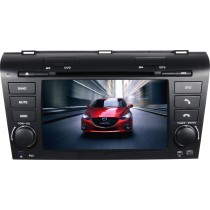 Mazda 3 Touch Screen Head unit Upgrade With Navigation DVD Player GPS Radio Replacement