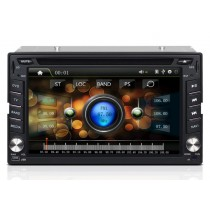 "Double Din Car Stereo DVD Player GPS Navigation 6.2"" Touch screen"