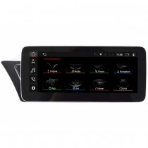 "Aftermarket Audi A4 A5 Stereo Upgrade Android Head Unit 10.25"" HD Touch Screen Navigation Apple Carplay"
