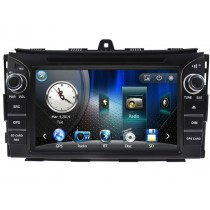 2 Din Car DVD Player Geely Emgrand EC7 2014 2015 GPS Radio Navigation iPod USB GPS Maps