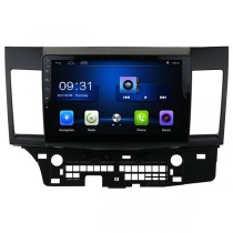 "10.1"" HD Android Mitsubishi Lancer Navigation GPS Radio Head Unit Quad-Core CPU 2GB RAM"