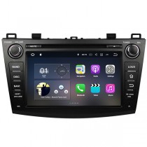 Mazda 3 Android GPS DVD Navi Radio Bluetooth Touch Screen Headunit 1024*600 Quad-Cores 16GB for 2009-2014 Mazda3