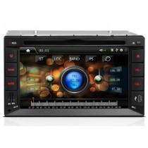 Double Din Radio Head unit with DVD Player GPS Navigation FM USB