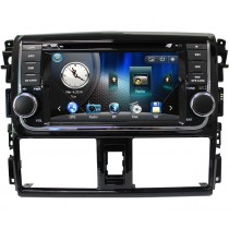 "2014 2015 Toyota Vios Radio DVD Player Toyota Vios Navigation GPS System 7"" HD Touch screen"
