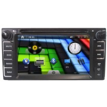 Double din DVD player for Toyota Corolla RAV4 HILUX VIOS TERIOS CAMRY PRADO 200*100mm in-Dash Radio with GPS navigation