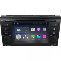 2 Din Mazda 3 Radio GPS DVD Navigation BT Quad-Core Android OS 1080P HD 1024x600 Touch Screen