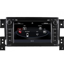 Suzuki Grand Vitara DVD GPS Double Din Radio with Bluetooth Touch Screen