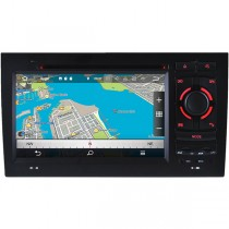 """7"""" Android 7.1 Audi A4 S4 RS4 GPS Navigation Car DVD Player Multimedia Head Unit 16GB+2G"""