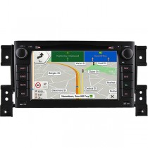 Suzuki Grand Vitara Navigation System Radio Replacement Android Head Unit