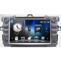 Double Din Toyota Corolla DVD Player Corolla GPS navigation Bluetooth Head unit