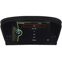 8inch HD screen Head unit for BMW E60 E61 E64 M5 with GPS navigation system Bluetooth DVD Player Optional