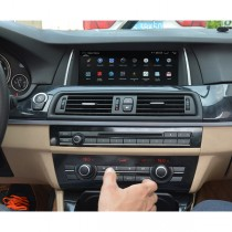 10.25 inch Android BMW F10 F11 Head Unit Navigation GPS System Bluetooth Hands Free A2DP Quad-Cores 16GB 1280*480 Touch screen