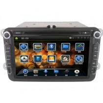 Volkswagen DVD Player GPS Navigation VW Double Din Head unit with Bluetooth