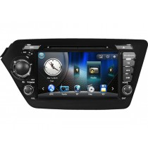 DVD Player for Kia K2 Rio with GPS navigation system Bluetooth iPod Touch screen