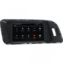 1024*600 HD Android Audi Q5 A4 A5 Navigaiton GPS Head Unit Touch Screen Quad-Cores 16GB