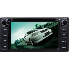 Universal Toyota DVD Player with GPS navigation System Car Radio 200x100mm