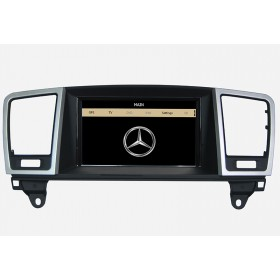 Mercedes Benz ML350 GPS navigation 2012 2013 W166  Aftermarket headunit USB