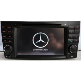 2 Din Mercedes W211 Navigation DVD E-Class Benz W211 DVD Player GPS Radio