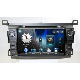 "8"" Car DVD Player Toyota RAV4 2013 2014 2015 Aftermarket GPS Navigation DVD Radio"