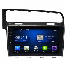 "VW Golf 7 Radio Navigation GPS 10.1""  Android Quad-Core 1.6GHz 16GB 1024*600 Touch Screen for Volkswagen Golf 7"