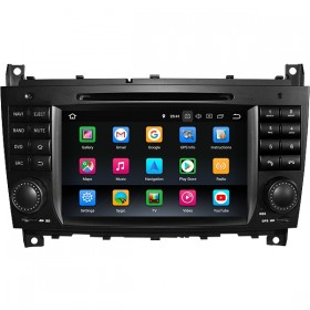 Mercedes W203 Android Head Unit | Mercedes W203 Radio Upgrade