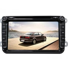 "Double Din 8"" Volkswagen DVD GPS Nav for VW Golf Jetta Passat Magotan HD Screen"