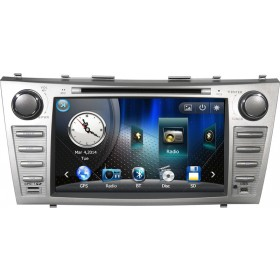 2 Din Toyota Camry DVD Player Toyota Camry GPS Navigation with Bluetooth