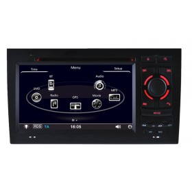 Double Din Audi A4 DVD GPS Navigation system Bluetooth Navi for A4