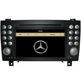Mercedes Benz SLK R171 DVD Player GPS navigation SLK 350 200 300 280 Navi DVD Head unit
