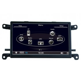 Audi Q5 Navigation DVD GPS Head unit Touch screen USB SD Bluetooth