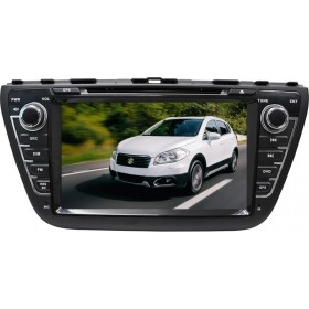 Suzuki SX4 S-Cross Radio DVD Player  - Suzuki S Cross SX4 GPS navigation Head unit 2014-15