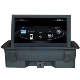 Audi Q3 DVD Navigation - Audi Q3 GPS with Bluetooth touch screen Head unit